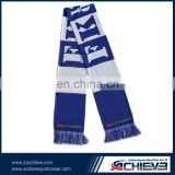 China factory Custom 2016 Football European Cup Fans Scarf