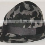 Printed wool bavarian hat