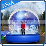 2015 Take photos Inflatable Snow Globes for Sale