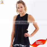 sexy bamboo womens sports 100 polyester plain gym dri fit wholesale racerback fitness tank tops in bulk