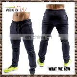 euro classic warm 3 pockets trousers wholesale blank jogger men pants