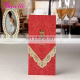 ACW2006 Red Wedding Blessing Invitation Cards