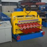 dual roofing roller roll forming machine