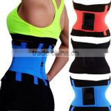 2016 new hot sale women slimming shaper sport waist trainer belt waist support belt for women 4 colors