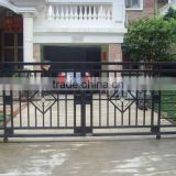 slide steel gate, swing metal gate, gate for house, engraved metal gate, wrought iron entrance gate with iron panel