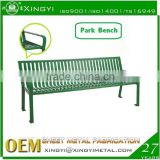 Hot selling metal steel park bench garden benches cheap/chinese style garden bench/garden bench
