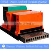 building/construction project using reinforced concrete hollow core slab machine with slab vibrator