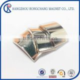 Customized arc shape neodymium magnets