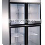 Hot selling display commercial refrigerator with stainless steel shell                                                                         Quality Choice