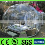 customized design clear inflatable bubble camping tent / outdoor camping inflatable bubble tent