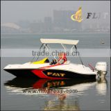 China fiberglass military patrol boat for sale
