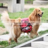 Wholesale pet bag multicolor optional backpack for pet dog, outdoor dog backpack