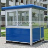 Good looking portable security booth, exhibition booth design, prefab modular toll booths with free 3d max design