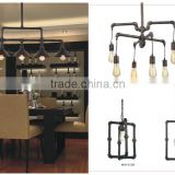 Glass Lighting Loft Vintage Iron and Rust Glass Industrial Pendant Lamp Pendant Lighting