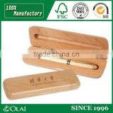 Clear lacuer finished wooden pen box for sale