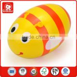 top products hot selling new 2014 likable orange fissle bug model toy shell egg designs pest rustle replica musical instruments