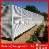 hot sale new design aluminum louvered fence from China