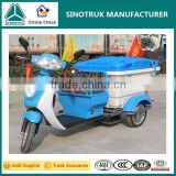 Cheap Electric Three Wheel Tricycle Garbage Collect Truck for Sale