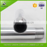 Factory customized boron carbide sand blasting nozzle with aluminum jacket and thread for sandblasting