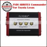 Latest version FVDI ABRITES Commander For Toyota Lexus V9.0 Software USB Dongle with high quality 2016