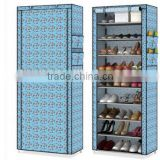 Simple desigm portable Assemble waterproof shoe rack closet organizer                                                                         Quality Choice
