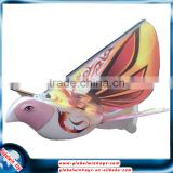 New flying bird radio control model bird rc flying e-bird with LED Flashing Lights bird and voice