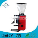 1 year Spare part warranty (flat type) electric Coffee Grinder CJT