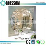 Flower shaped ornate decorative wall mirror                                                                                                         Supplier's Choice