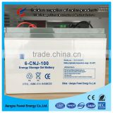 China Manufacturer Supply Free Agm Solar Battery 12v 80ah 90ah 100ah Battery