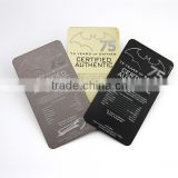 Cheap gold plated metal business card with brushed and laser cut crafts                                                                                                         Supplier's Choice