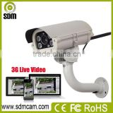 IOS/android/windows remotely monitoring 3g wcdma camera with 32GB SD card for remote place monitoring