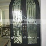 Top-selling modern wrought iron front doors