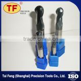 Made In China Tai Feng Cnc Machine Cutting Tools Solid Carbide Thread Ball Nose End Mills Metal Cutting Tools