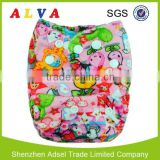One Pocket Reusable Alva Cloth Diaper One Diaper Comes with One Microfiber Insert                                                                         Quality Choice
