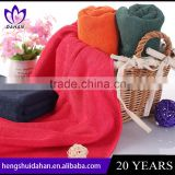 China supplier 80% polyester 20% polyamide fabric face towel car clainning microfiber towel