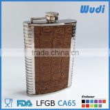 great price food grade stainless steel hip flask for alcohol and wine HF850