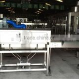 3 in 1 filling machine top cover /L conveyor 3000BH filling machine/Label shrinking device/