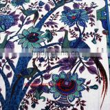 Indian Mandala Blue Tree Of Life Wall Hanging Tapestry Throw Decor Bedspread Bg