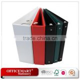 3 inch pvc view binder/ 3 ring binder/ a4/ fc pvc file folder/plastic pockets file folder/a4 clear file folder document holder