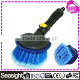 Car cleaning brushes for cleaning car, car detailing brush, PVC bristle car wheel brush