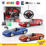 Mixed stowage three color 1:16 gravity steering wheel rc car toy