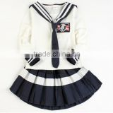 Latest design custom children korean school band girls uniform badges pictures