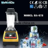New Product Different Colors for Option 1800W Commercial Bar Blenders