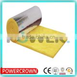 made in china thermal insulation materials glass wool insulation with aluminum foil for wall high density