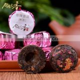 dried chinese herbal pink rose bud blend tea bag