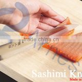 Japanese traditional kitchenware kitchen cooking tools stainless steel wood handle fish sashimi knife sushi knives 12832