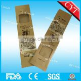 side gusset kraft paper snack packaging bags with heat sealing                                                                                                         Supplier's Choice