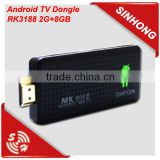 Battery powered mini pc android 4.2 hdmi dongle smart tv box