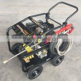 High pressure washer 3600 Psi with kama 186F diesel engine 10Hp for car, garden, street washiong and cleaning
