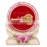 crystal paper weight inside lollipop design selling in cheap price
